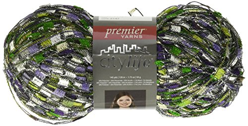 Premier Yarns City Life Ladder Yarn, Grapevine