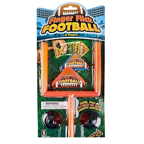 Finger Flick Football Activity Game Set of 6