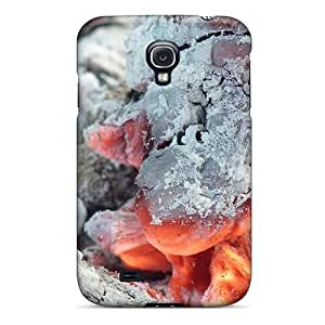 OTBOX Fashion Protective Glowing Embers Case Cover For Galaxy S4