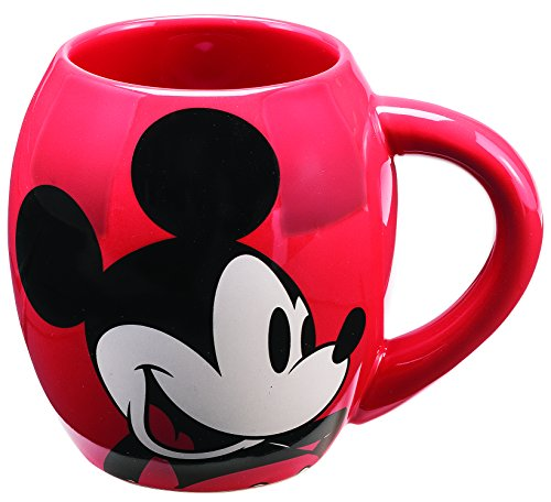 Mickey Mouse Coffee Mug (Disney Mickey Mouse 18 Oz. Oval Ceramic Mug 89063)