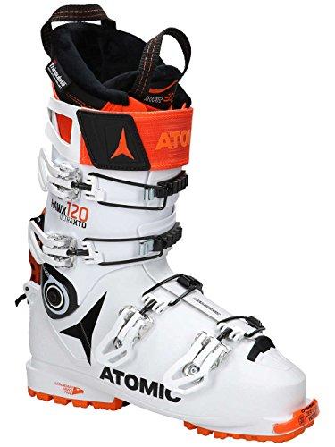 Atomic HAWX Ultra XTD 120 Alpine Touring Boot White/Black/Orange, 27.5