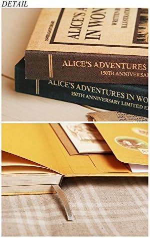 Alices Adventures au pays des merveilles 150/ème anniversaire de mariage /Édition limit/ée Agenda perp/étuel non dat/é Planning hebdomadaire
