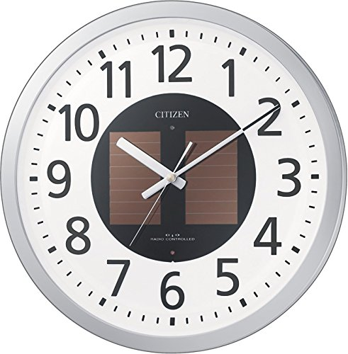 Rhythm Clock CITIZEN (Citizen) Solar radio hanging clock Eco Life M815 4MY815-019 -