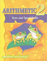 Tests and Speed Drills used with ABeka Grade 2 Math Curriculum.  Only the 1st 20 pages in book, 1st 5 Math Lessons.