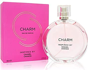51c4c6080a Inspired By C H A N E L Chance, Charm Women's Perfume - 2.7 FL.Oz/80 Ml.  Eau De Parfum