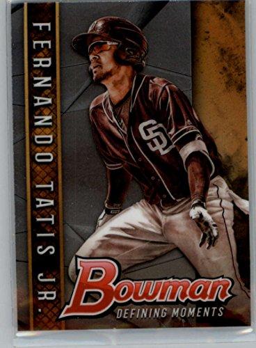 2017 Bowman Draft Defining Moments #BDM-FT Fernando Tatis Jr. RC Rookie San Diego Padres MLB Baseball Trading Card
