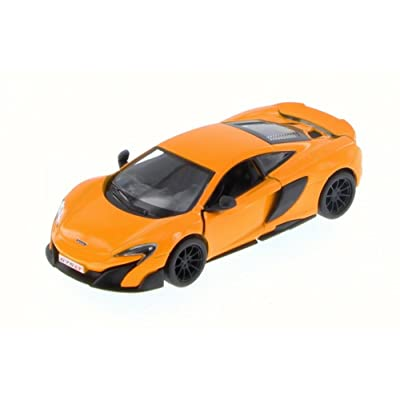 Kinsmart McLaren 675LT, Orange 5392D - 1/36 Scale Diecast Model Toy Car but NO Box: Toys & Games