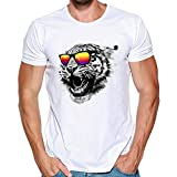 Gibobby Men's Summer Casual T Shirts Graphic Tees Funny Fashion Printing Slim Fit Short Sleeve Big and Tall ShirtsTops