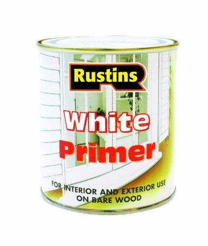 Rustins White Primer (Rustins 500ml WPRI500 Primer - White by Rustins)