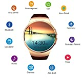 Smart Watch Pedometer Heart Rater Cell Phone Bluetooth Smart Watches for Android and IOS Smartwatch