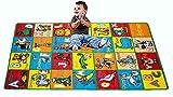 Kids Rug ABC Animals Area Rug 5' x 7' Children Area Rug for Playroom & Nursery - Non Skid Gel Backing (59