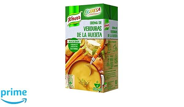 Knorr Ligeresa Crema de Verduras de la Huerta - 500 ml: Amazon.es: Amazon Pantry