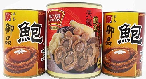 China Good Food Set-13 Canned Bowl Feast 盆菜 1 Can x Canned Abalones 2 Cans Free Airmail by China Good Food