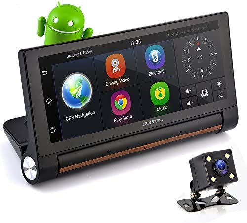 Touchscreen Android Dashcam Built PLDVRCAMAND75 product image
