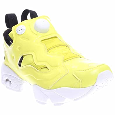 0e01b7a7dd02ae Reebok Women Instapump Fury Overbranded (Yellow Hero Yellow White Black)