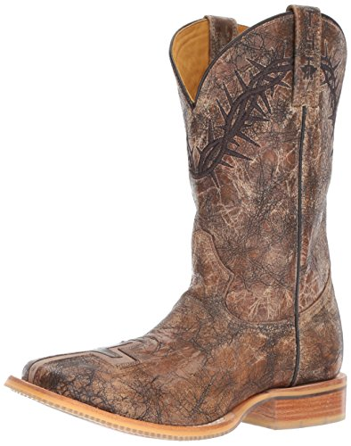 Image of Tin Haul Shoes Men's John 3: 16 Western Boot