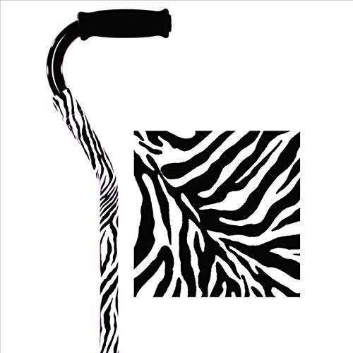 Viverity Pull-On Cane Cover - Zebra Print