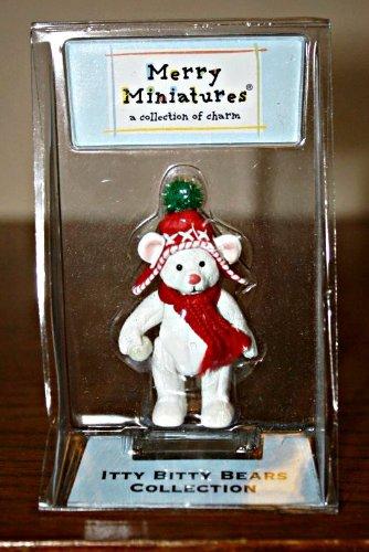 Itty Bitty Snowflakes - Hallmark Merry Miniatures Itty Bitty Bears Collection Snowflake Holiday Bear Figurine