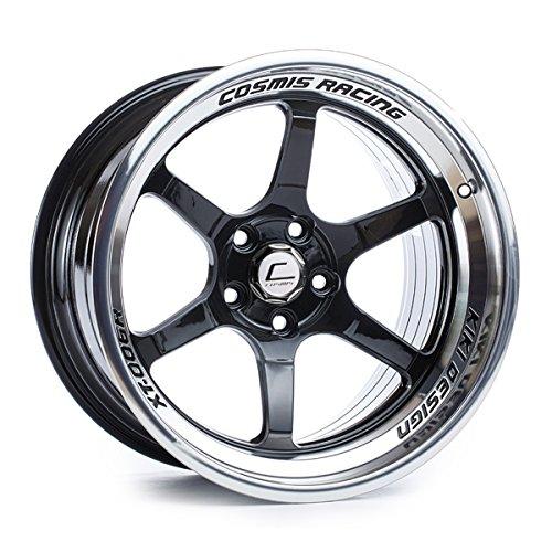 Cosmis Racing XT-006R 18x11 +8mm 5x114.3 Black w/ Machined Lip Rim Wheel