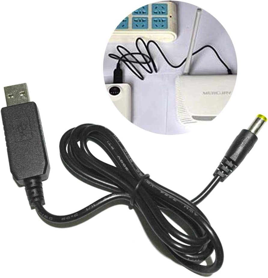 Cables 1M//3Ft Step-Up Module Converter Cable String USB DC 5V to DC 12V Male Connector Plug Cable Length: 1m