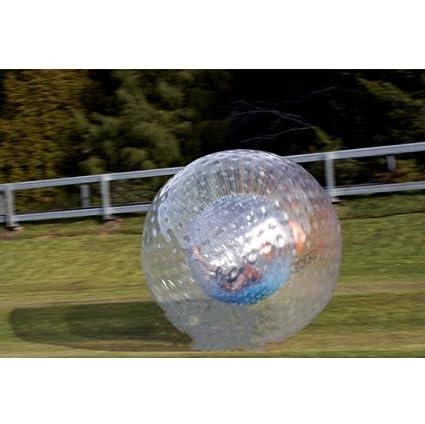 Pelota inflable de 2,5 x 1,7 m, para hámster humano, Hydro Zorb, 1 mm, 1