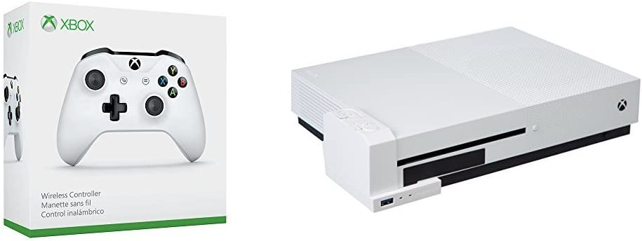 Microsoft - Mando Inalámbrico, Color Blanco (Xbox One) Bluetooth + ...
