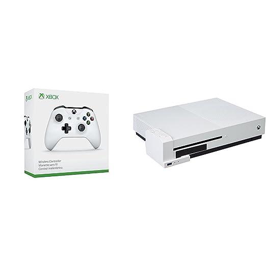 Microsoft - Mando Inalámbrico, Color Blanco (Xbox One ...