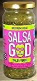 Salsa God Salsa Varde Medium 16.0 OZ(Pack of 12)