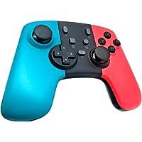 JZWX Pro Controller för omkopplare, trådlös Bluetooth-spelkontroll för switchkonsol-med programmeringsnycklar+färgskal…