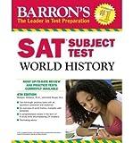 Barron's SAT Subject Test World History 4th (fourth) Edition by Hitchens Ph.D., Marilynn, Roupp M.A., Heidi [2010]