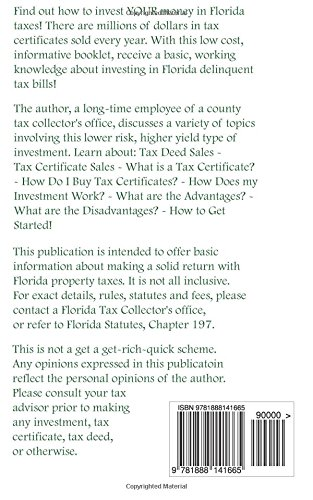 Low Risk Investing with Florida Tax Certificates: How to Make Money ...