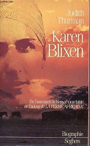 Karen Blixen [Pdf/ePub] eBook