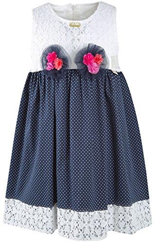 lace polka dot dress - 6