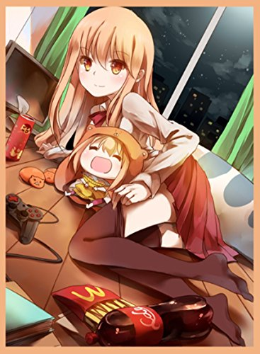 (60)MTG WoW Yugioh Card sleeves Anime UMARU Himono Onna Sleeves 60 Pcs 6792mm