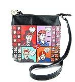 I Love Lucy Cross Body Bag- Cartoon Image Shoulder Purse
