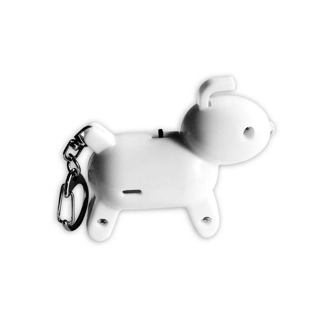 CALISTOUS Key Finder Mini Dog Anti-Lost Flashing Alarm Whistle Key Locator Key Tracker Wireless RF Key Item Bag Pet Cell Wallet Locator Green