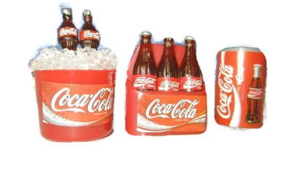 Coca-Cola juego de imanes para nevera 3 unidades.: Amazon.es: Hogar