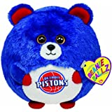 Ty Beanie Ballz Detroit Pistons - NBA Ballz
