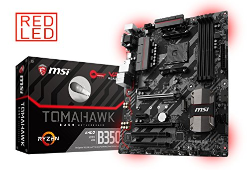 MSI Gaming AMD Ryzen B350 DDR4 VR Ready HDMI...