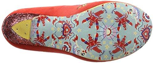 Irregular Choice Bloom Beauty - Tacones Mujer Rojo (Red)