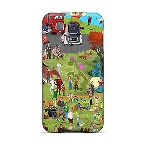 JamesKrisky Samsung Galaxy S5 Shockproof Hard Phone Case Support Personal Customs Stylish Cartoon Movie 2014 Series [uSh11378iNIE]