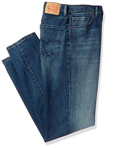 (Levi's Men's Big and Tall 550 Big & Tall Relaxed Fit Jean, Fonzie - Stretch, 44W x)