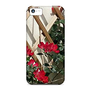 Iphone 5c Red Roses Old Fashion Print High Quality Frame Cases Covers