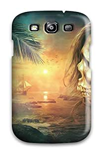Best Hot Tpu Cover Case For Galaxy/ S3 Case Cover Skin - Skull Fantasy 6708159K63484755
