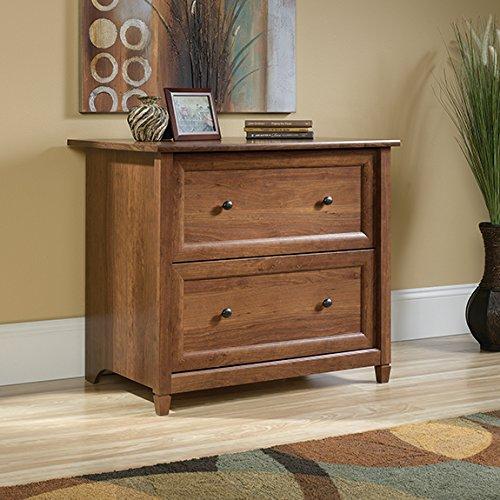 Sauder Edge Water 2 Drawer File Cabinet in Auburn Cherry