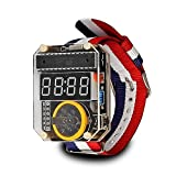 With this Digital Watches DIY kit, you can make a creative watches by yourself. With transparent case, components can be well protected and the clock looks stylish.  Product Feather:  Very hackable ATMega328-based kit with Arduino bootloader.  All th...