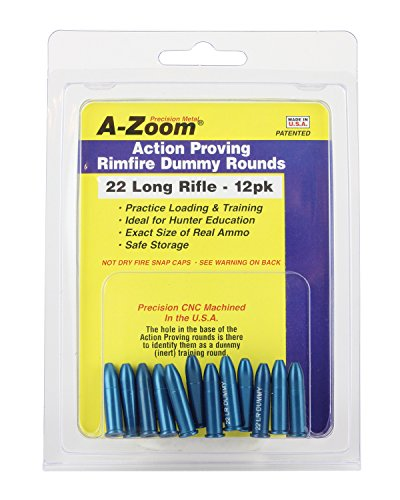 A-ZOOM 22 LR Action Proving Dummy Rounds (Per 12) ()