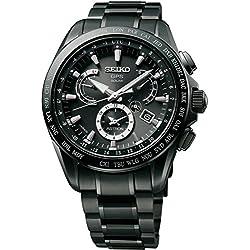 Seiko Astron GPS Solar Titanium Dual Time Mens Watch SSE049
