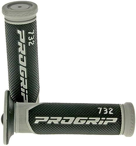 24 mm ProGrip 732 Road Schwarz Lenkergriffe Motorradgriffe 22 Grau
