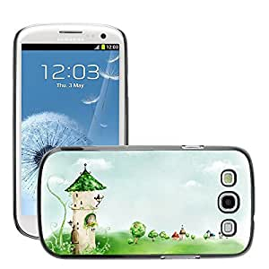 Hot Style Cell Phone PC Hard Case Cover // M00045364 artistic painting digital drawings // Samsung Galaxy S3 i9300